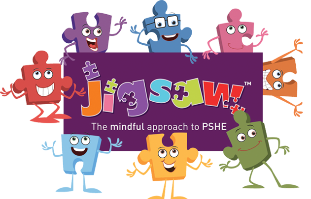 Jigsaw Fun Team Logo with PSHE Association Quality Mark and Yella TM e1547590015534